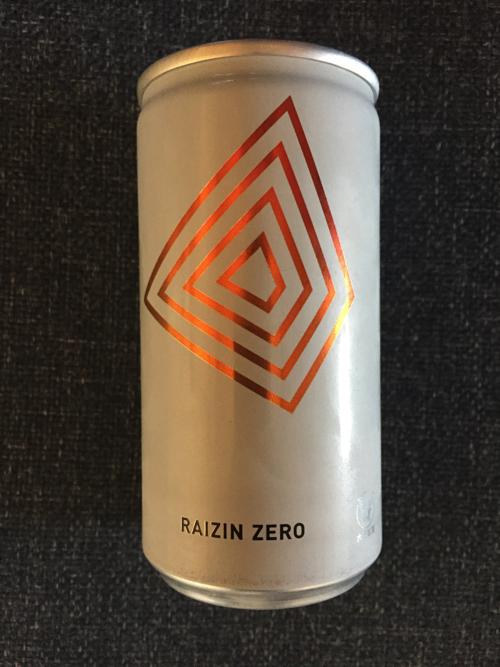 RAIZIN ZERO(ライジン ゼロ) エナジードリンクは大人向けな味?