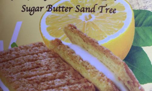 シュガーバターの木 シチリアレモンがサクサク、さっぱりの味わいで美味しい