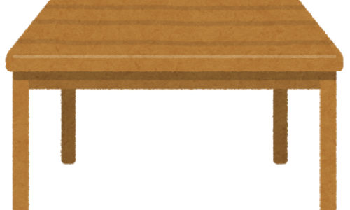 イケアからテーブル脚の高さを調整できる『OLOV オーロヴ』が良さげな件