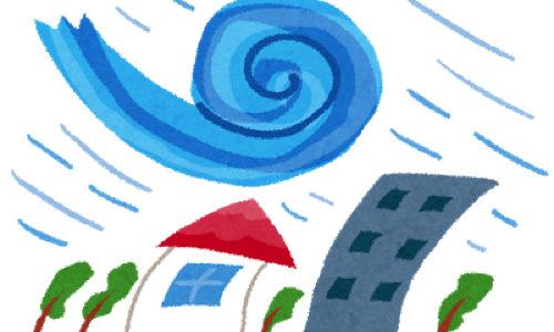 台風19号から学び なるべく被害が合わないように私物の管理を考えてみた