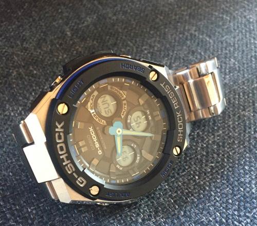 G-SHOCK  G-STEEL GST-W100D-1A2JF 腕時計を3年使用してみての魅力