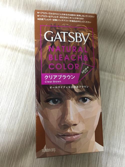 ギャツビー・メンズパルティー髪染めで茶髪・青色に染めてみた!