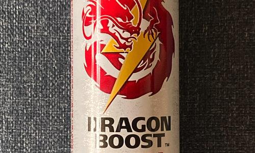 リアルゴールドで新エナジードリンク『ドラゴンブースト』がなんかジンジンくる感じ
